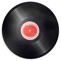 Разделочная доска Joseph Joseph Tomato Vinyl Worktop Saver 30х0.7 см Черная с рисунком (90001)