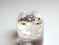 Кольцо позолоченное 34_6_5