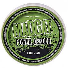 Поводочный материал DAM MADCAT POWER LEADER 100kg/222lbs 15m