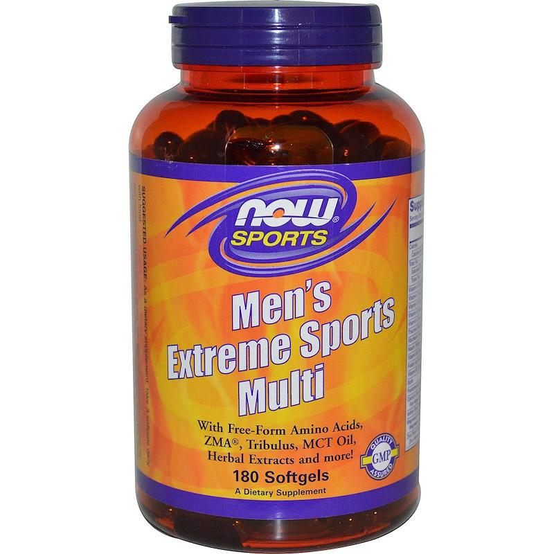 Витамины NOW Men's Extreme Sports Multi 90 softgels