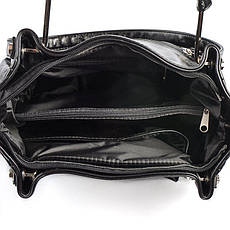 Женская черная стильная сумка М164-27, фото 3