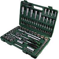 """Набор торцевых головок 1/4"""" и 1/2""""DR 4-32 мм и головок с биточными вставками 108 предметов Grad"""