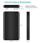 Xiaomi ZMi Power Bank 10000 mAh Type-C Black Quick Charge 2.0 (QB810), фото 3
