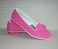 Туфли для девочки Фуксия весенне-осенние. Размеры: 33, 34, 35, 36, 37, 38