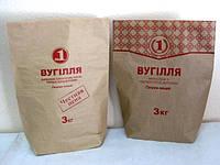Бумажные мешки для угля 3кг