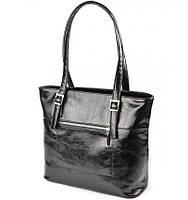Женская сумка черная из искусственной кожи М168-27