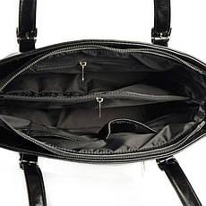 Женская сумка черная из искусственной кожи М168-27, фото 3
