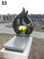 Элитный памятник комплекс гранит №0007