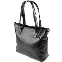 Женская сумка черная из искусственной кожи М145-Z