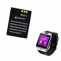 Аккумулятор, доп аккумулятор для Смарт часов Smart Watch DZ09, A1, GT08, X6