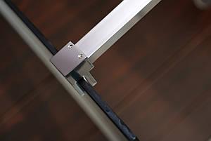 Держатель стекла (D) с креплениями VOLLE длиной 900мм, фото 2