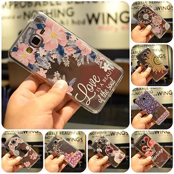 """Samsung J3 (2016) J320 оригинальный чехол накладка бампер противоударный с 3D принтом рисунком на телефон """"SG3"""