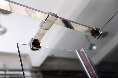 Держатель стекла (Е) с креплениями VOLLE длинной 300мм, фото 2