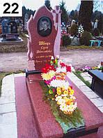 Элитный памятник комплекс гранит №0023