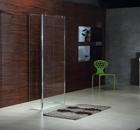 Стенка VOLLE 400*1900 мм, каленное прозрачное стекло 8мм, фото 2