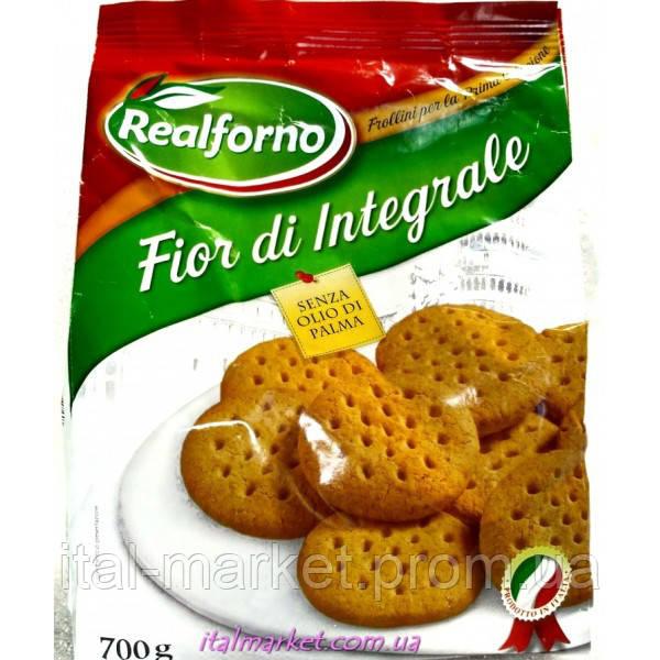 Печенье из цельной муки Fior di Integrale 700 г, Италия