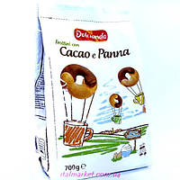 Печенье какао + сливки Frollini con Cacao e Panna 700 г