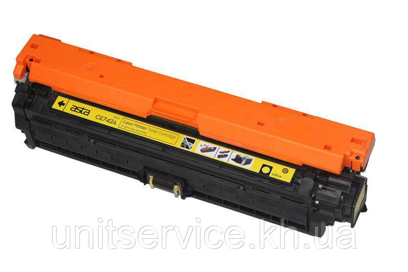 Картридж HP CE742A, 307А, (СЕ272A) (Yellow) для принтера HP Color LaserJet CP5225; CP5225dn