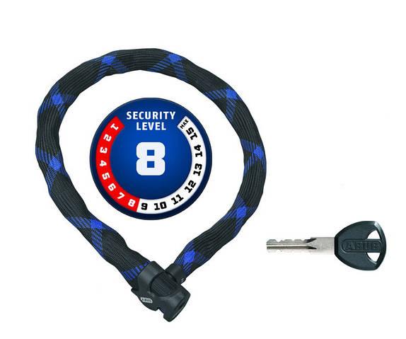 Велозамок ABUS Ivera Chain 7210/110 чорний 551420
