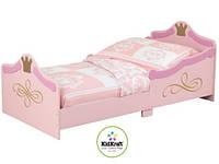 """Дитяче дерев'яне ліжко """"Принцеси"""" від Kidkraft"""