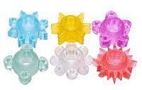 Frisky Насадки для члена разных форм и цветов Enhance 6 Piece Cock Ring Set