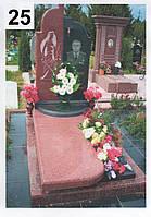 Элитный памятник комплекс гранит №0036
