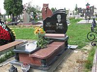 Елітний комплекс пам'ятник із граніту бокова різьба каменю на цвинтарь