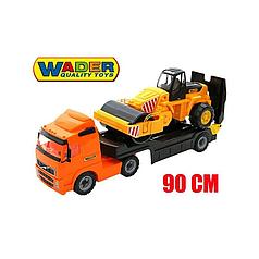 Автомобиль трейлер и каток Wader 36902