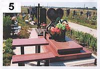 Элитный памятник комплекс гранит №0038