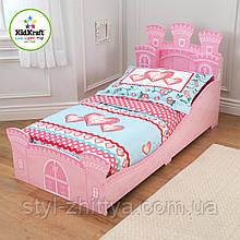"""Дерев'яна яне дитяче ліжко """"Замок Принцеси"""" від Kidkraft"""