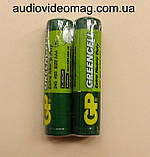 Батарейка GP Greencell R03 ААА 1,5 V солевая микропальчиковая, фото 2