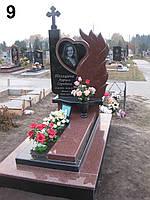 Элитный памятник комплекс гранит №0042