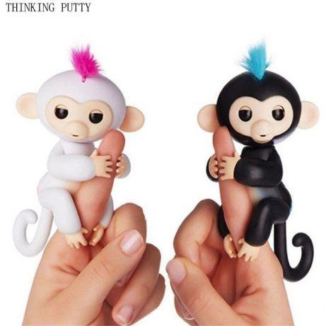 Интерактивная обезьянка Fingerlings, Сенсорная!