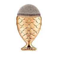Кисть для макияжа - Рыбка (натуральный ворс)
