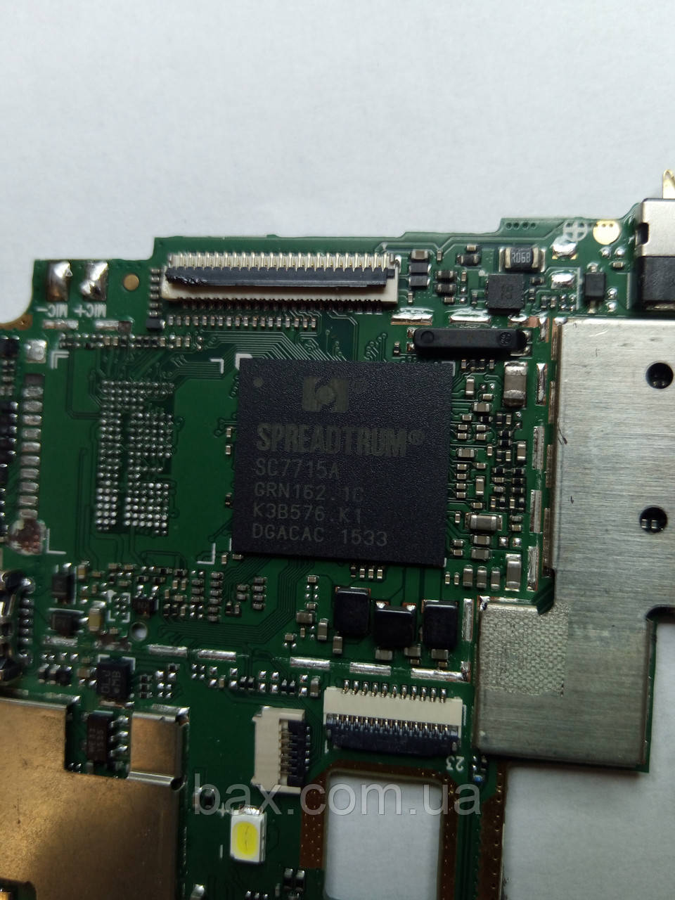 Микросхема процессора Spreadtrum SC7715A На плате Описание