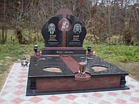 Элитный памятник комплекс гранит №0067