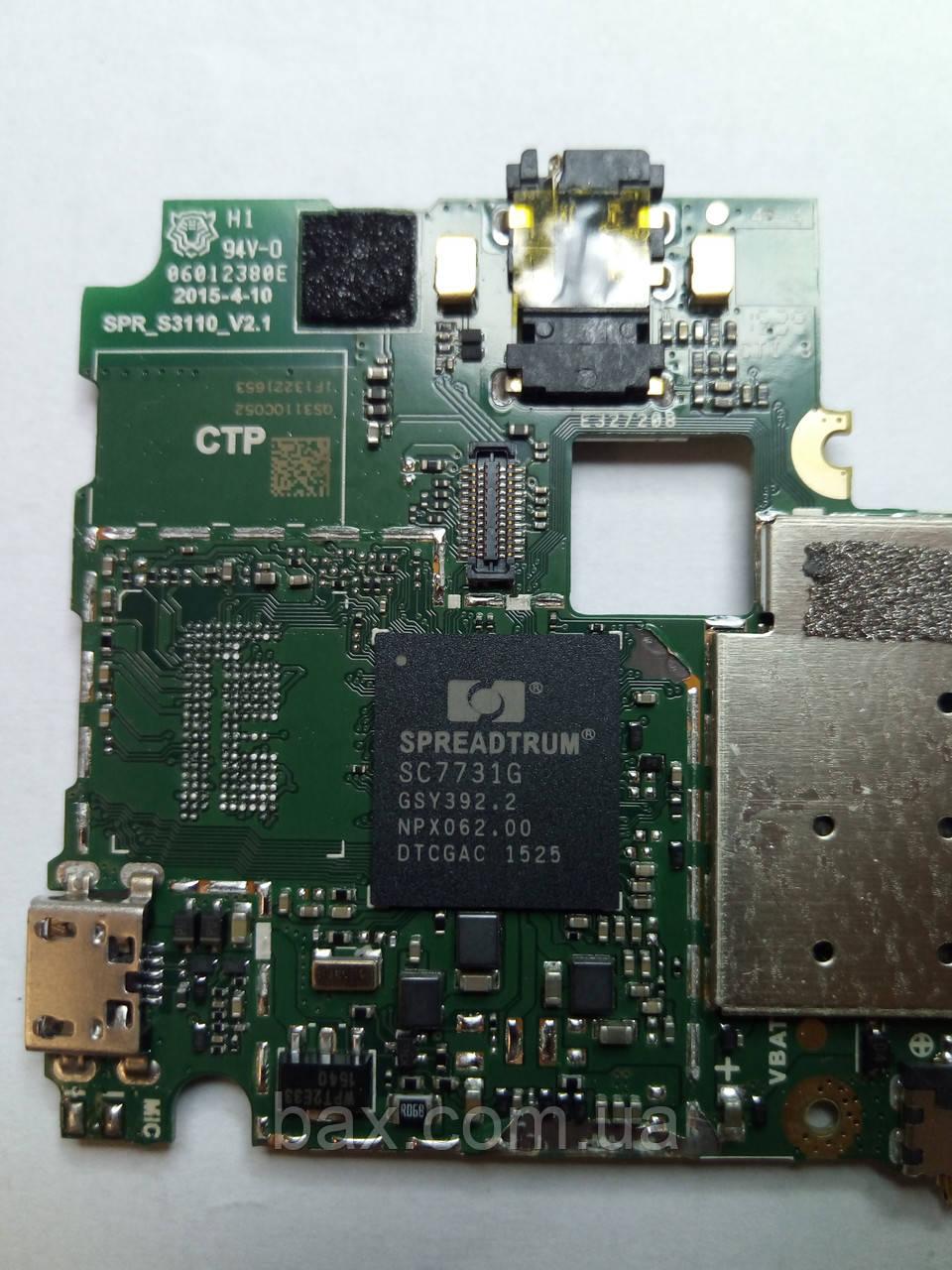 Микросхема процессора Spreadtrum SC7731G На плате Описание