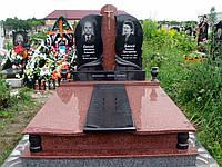Элитный памятник комплекс гранит №0073