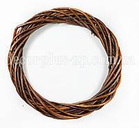 Венок из лозы, d-20см, коричневый