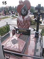 Элитный памятник комплекс гранит №0079