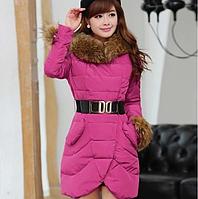 Модная зимняя женска куртка пуховик