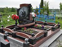 Элитный памятник комплекс гранит №0083