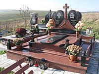 Элитный памятник комплекс гранит №0084