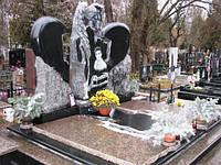 Ексклюзивний пам'ятник із граніту ангел