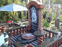 Элитный памятник комплекс гранит №0087