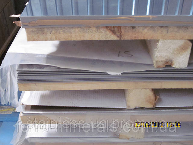 Нержавеющий лист 3,0х1000х2000мм, AISI 304 (08X18H10), 2В+РІ