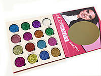 Глитер Huda Beauty Allure 16 Colors of Eyeshadow Glitter Pallete