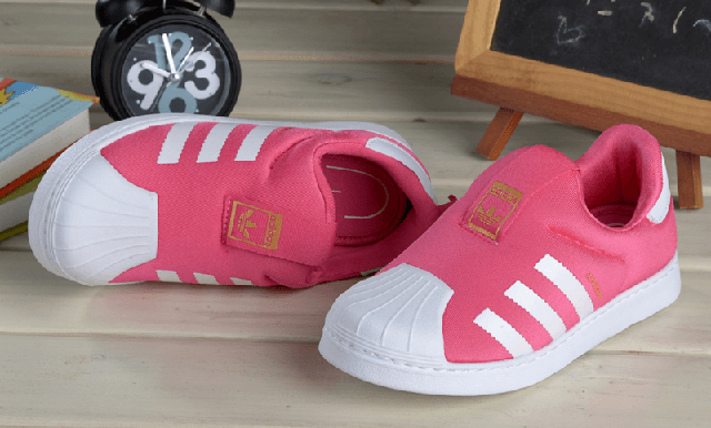 Детские кроссовки Adidas Superstar Kids Pink