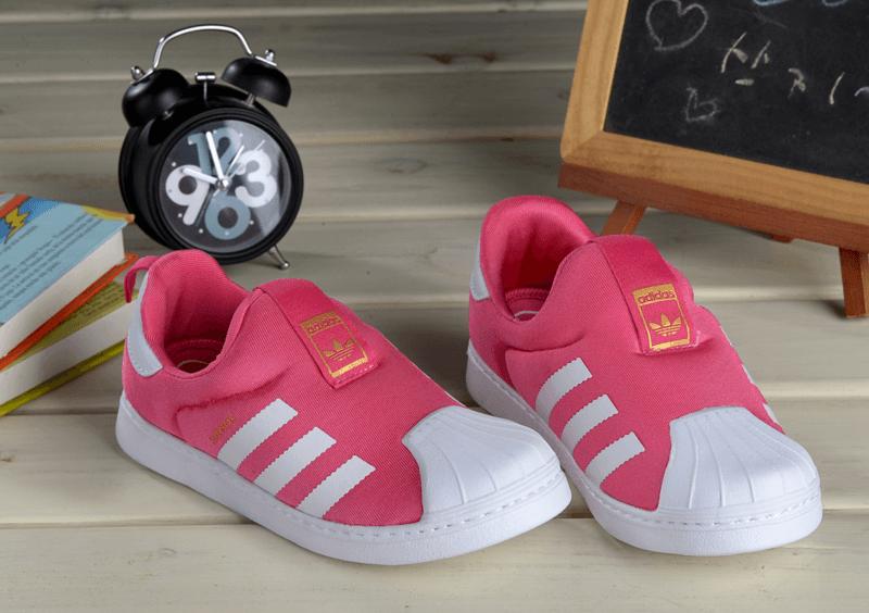 1944fcd3 Детские кроссовки Adidas Superstar Kids Pink - Интернет магазин обуви  «im-РоLLi» в