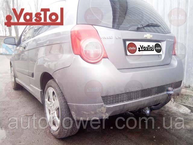 Фаркоп на Chevrolet Aveo T250/255 (hatchback) (2008-2012)